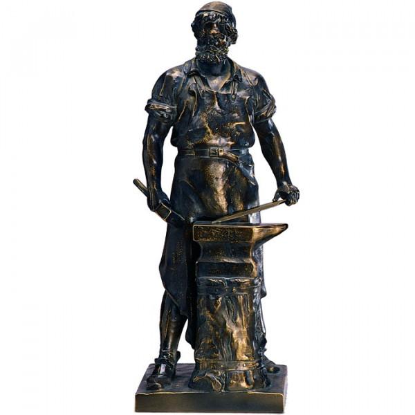 Exklusive Figur Klingen Schmied Handwerk Anerkennung Pokal