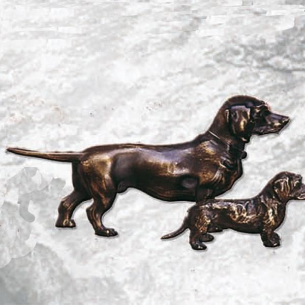 Elegante Figur Dackel Hund Clubauszeichnung Vereinspokal