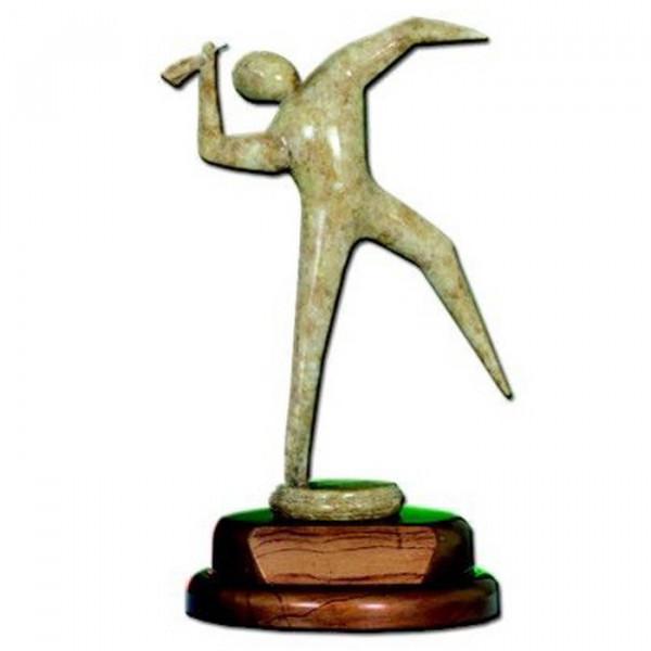 Holz Figur Dart Verein Sport Ehrenpreis Trophy Hochwertige Fertigung