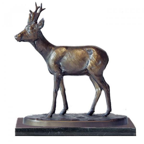 Figur Rehbock Reh Wild Trophäe