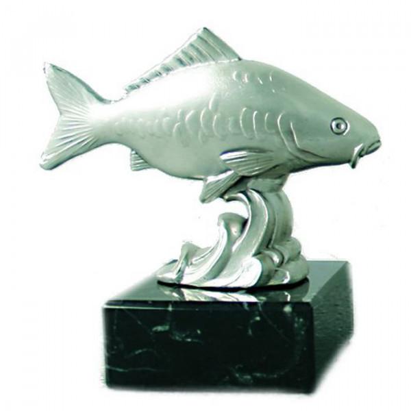 Metall Figur Karpfen Vereinspokal Siegerpreis