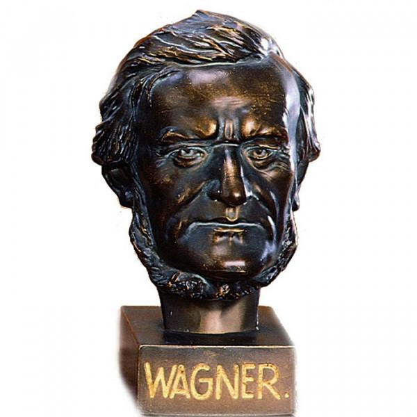 Außergewöhnliche Figur Kopf Wagner Komponist Klassik