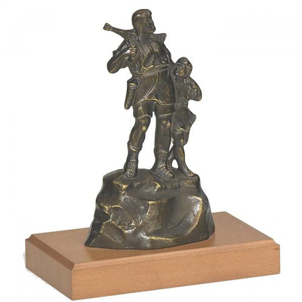 Figur Wilhelm Tell Sohn Auszeichnung Pokal