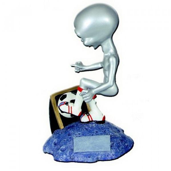 Sportfigur Alien Fußball Verein Spaß Pokal Auszeichnung