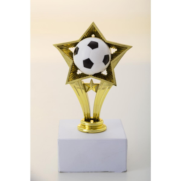 Komplettfigur Fussball Pokal