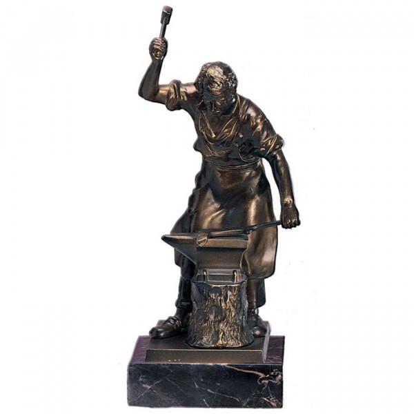 Figur Schmied Hammer Amboss