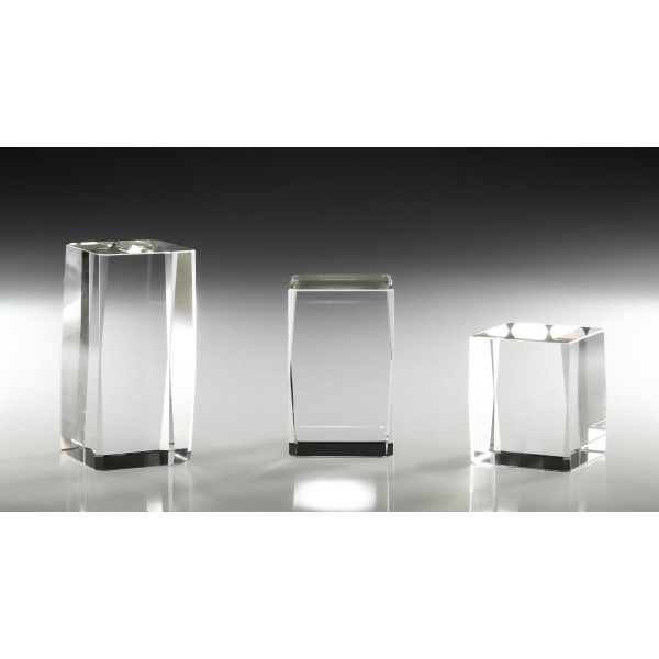 für Lasergravuren geeignetKristallglasblock 10x5x5cm