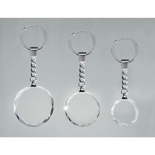 klar Schlüsselanhänger Glas Ross