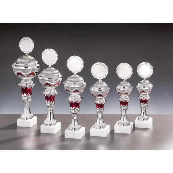 Pokal Silber-rot Laura