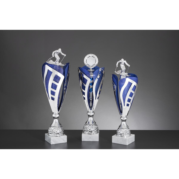 Pokal Silber-Blau Stuttgart