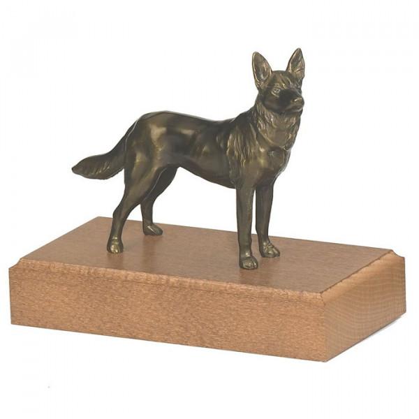 Figur Schäferhund Verein Ehrung Pokal
