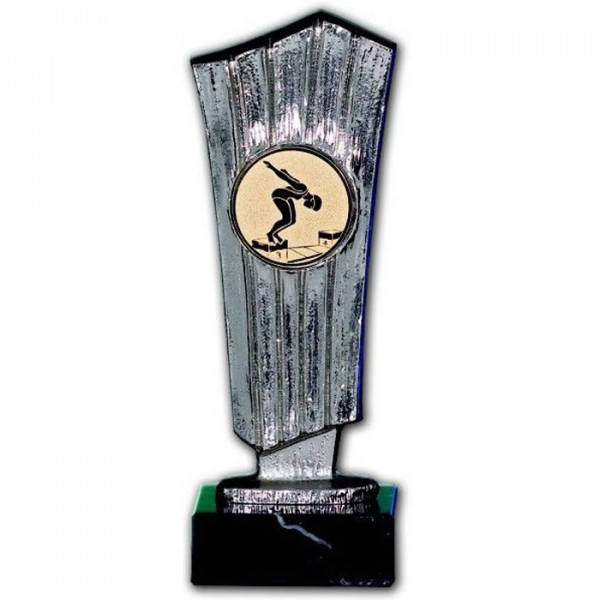 Siegertrophäe Award Ehrenpreis Metall