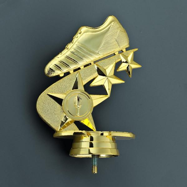 Pokal goldener Fußballschuh