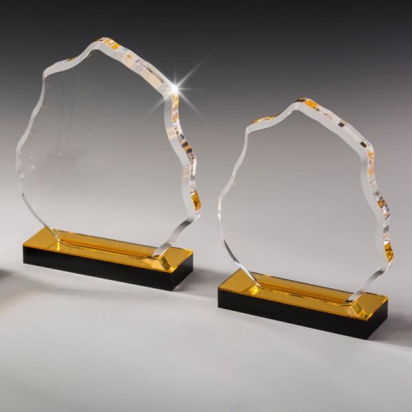 """Acrylglas Award """"Golden Mountain"""""""