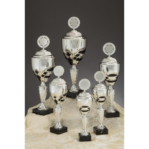 Pokal Silber-Schwarz Barbarina