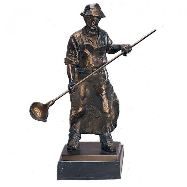 Exklusive Figur Auszeichnung Giesser Handwerk