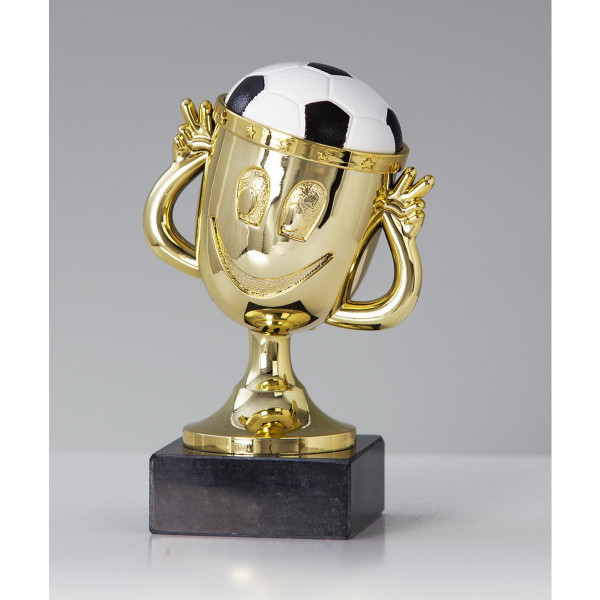 Fussballtrophäe Funny-Cup Pokal