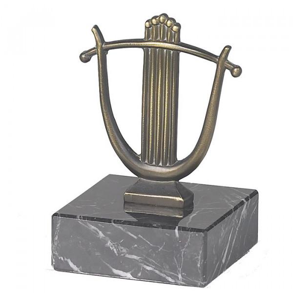 Trophäe Lyra - Harfe Instrument Musik Award Pokal