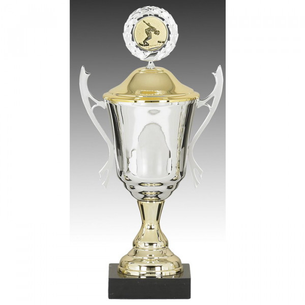 Sportpokal Siegerehrung Champion Metalloptik