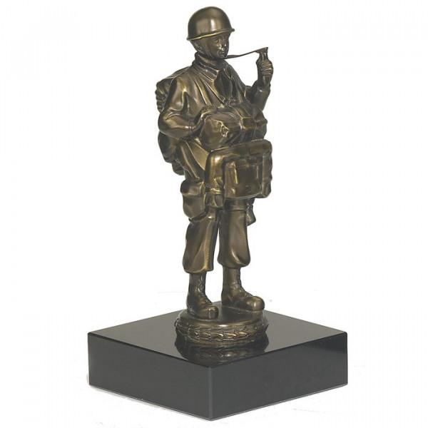 Ehren Figur Soldat Fallschirmspringer Kriegsehrung