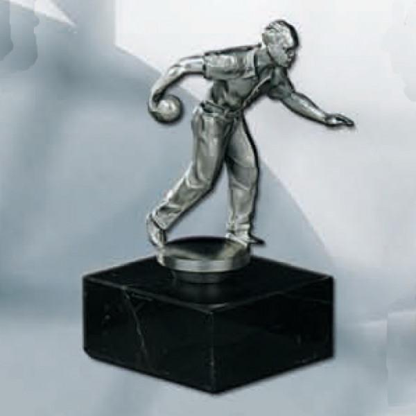 Sport Figur Kegeln Herren Siegerpokal Edles