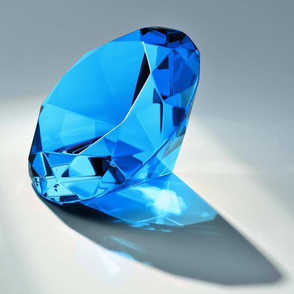 "Kristallglas Diamant ""Blue Diamond"""