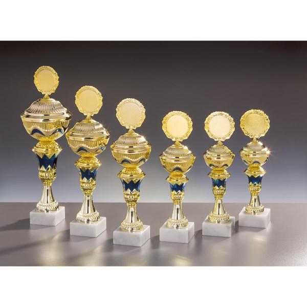 Pokal Gold-Blau Mattea
