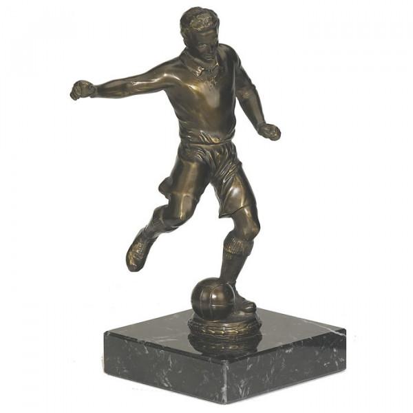 Figur Fußballer Sportauszeichnung Exklusives Metalldesign