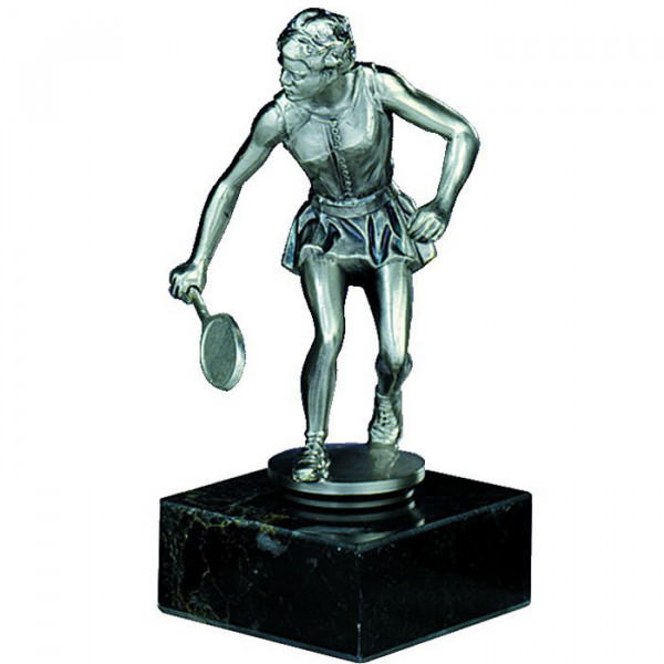 Figur Badminton Siegerpokal Trophy Aufwendige Fertigung
