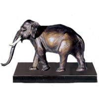 Exklusiv Figur Elefant Trophäe Wildtier Pokal