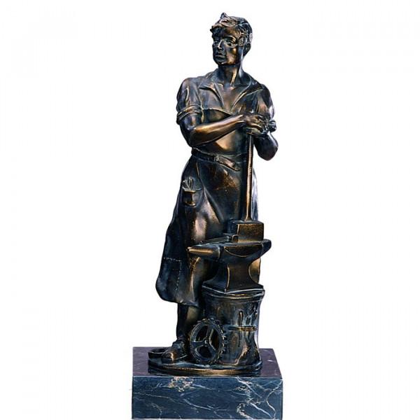 Ehren Figur Schmied Handwerk Verein Auszeichnung Trophy