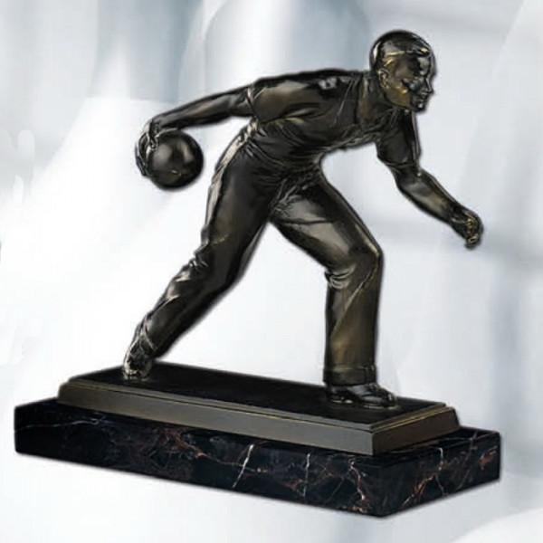 Sport Figur Kegel Verein Herren Siegerpokal Ehrung Trophy
