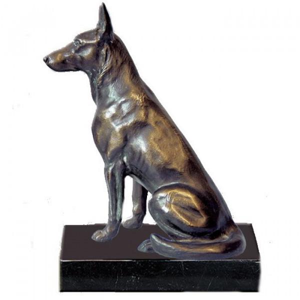 Anmutige Figur Wachhund Schäferhund Auszeichnung Ehrung