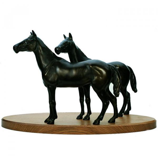 Figur Pferde Pfohlen Ehrung