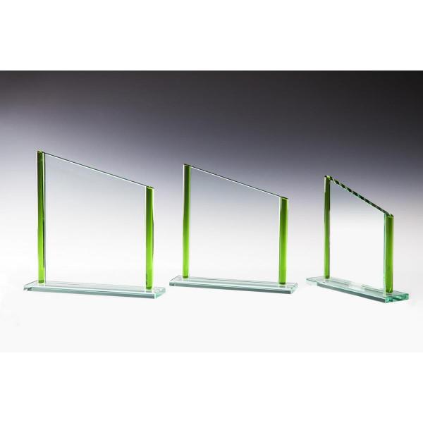 Jade Glas grün Ella