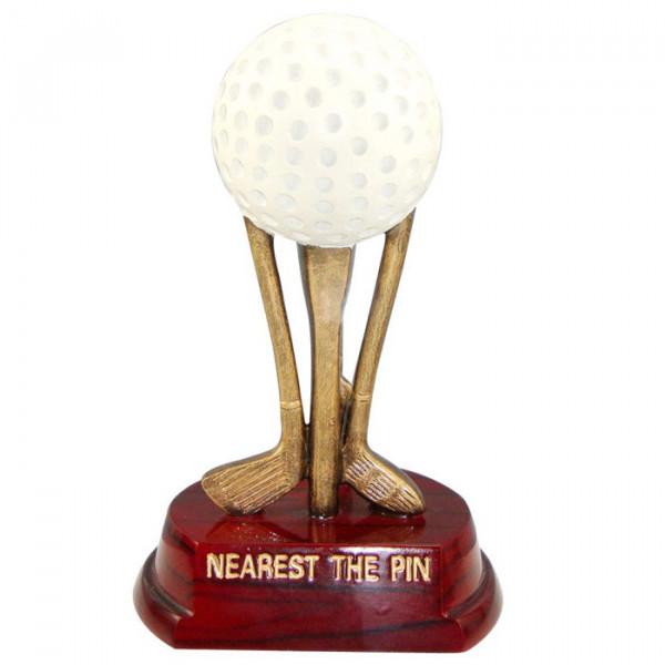 Sport Figur Golf Siegerpokal Trophy Hochwertige Optik