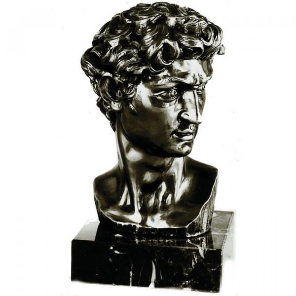 Renaissance Figur / Büste David von Michelangelo