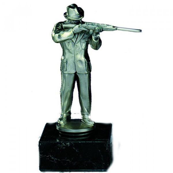 Figur Schütze Herren Jagdsport Siegerehrung Auszeichnung