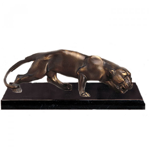 Exklusiv Figur Panther Raubtier Katze Pokal