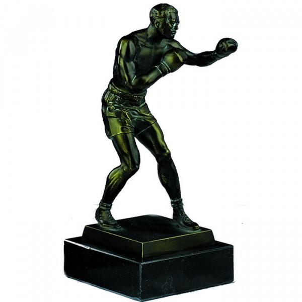 Sport Figur Boxen Kampfsport Herren Detaillierter Siegerpokal Trophy