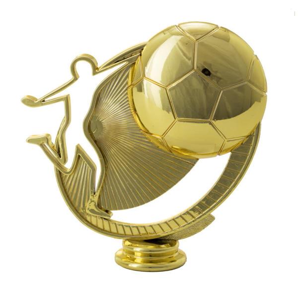 Fußballpokal Gold