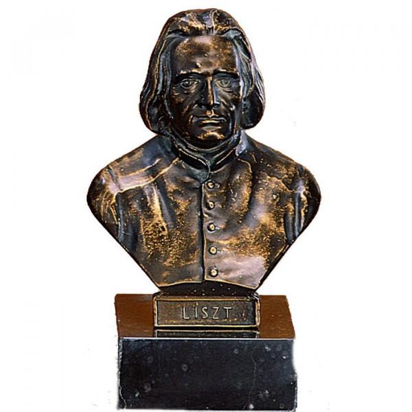 Büste vom Pianist und Dirigent Franz Liszt mit Idividualgravur