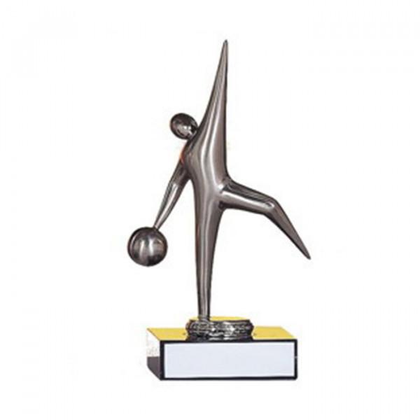 Edle Sieger Figur Bowling Sportpokal Vereinsehrung Trophy