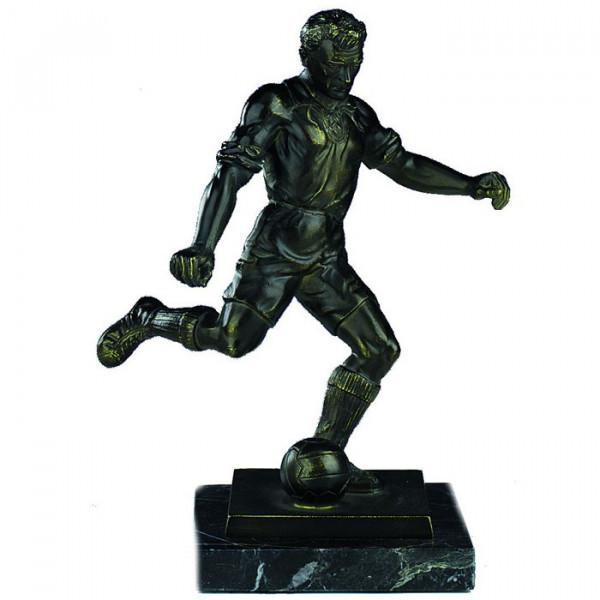 Figur Soccer Herren Pokal Torjäger Ehrenpreis Hochwertige Metalloptik