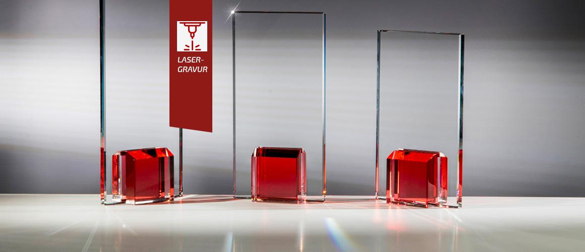 Colorglas-Pokale