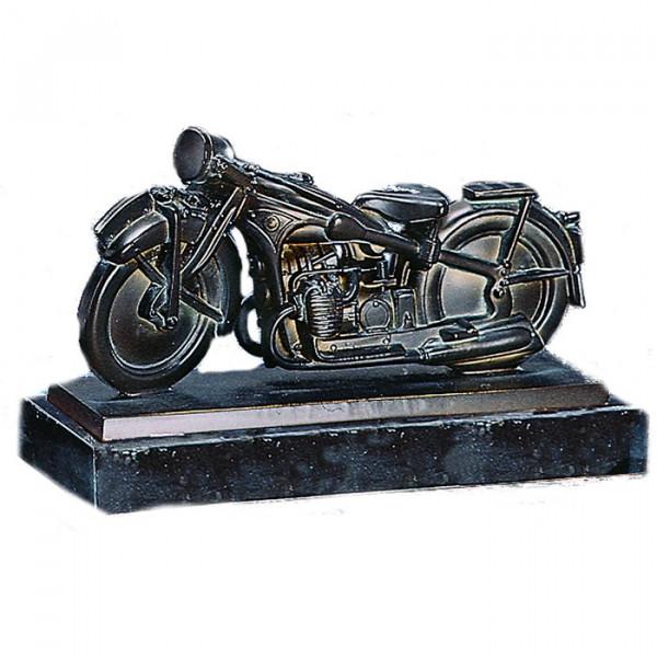 Metall Figur Klassik Motorrad Motorsport Trophy Oldtimer Pokal