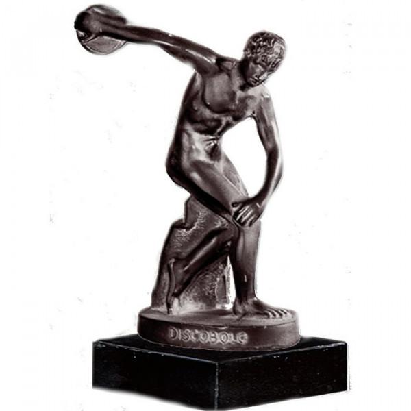 Edle Figur Statue Diskobol Von Myron Antikes Griechenland