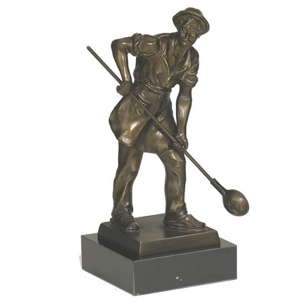 Figur Giesser Handwerk Anerkennung Pokal Ehrung