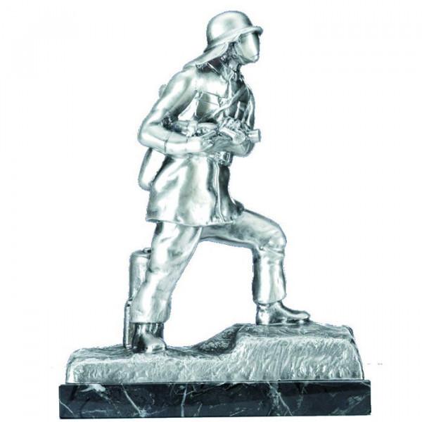 Edle Figur Feuerwehr Fire Fighter Anerkennung Ehrenpokal