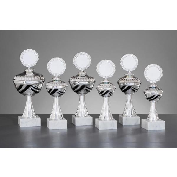 Pokal Silber-Schwarz Mona